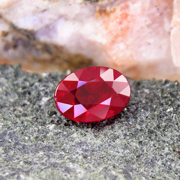 Natural Certified Royal Red 1.08ct Ruby (01750)