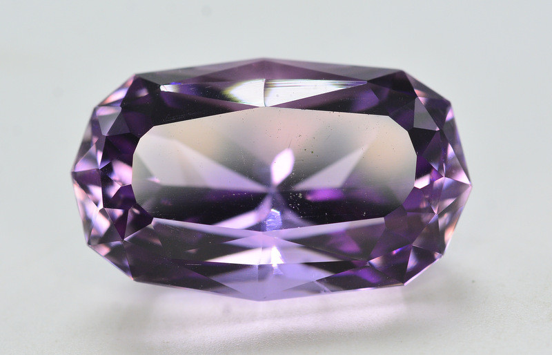 Quality Cutting  34.45 Ct Sparkling Color Natural Amethyst