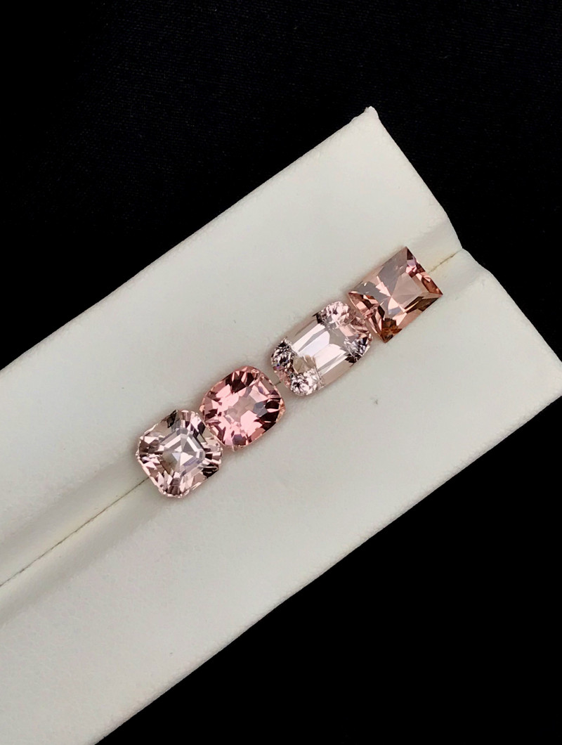 8 Carats Natural Baby Pink Color Tourmaline Gemstones