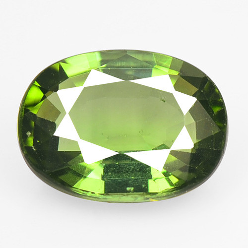Green Tourmaline 1.36 Cts  Natural Loose Gemstone