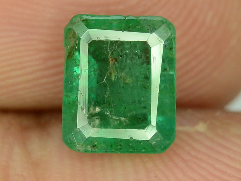 Top Color 1.40 ct Emerald~Zambia M