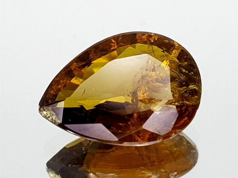 3.36Crt Yellow Tourmaline Natural Gemstones JI09