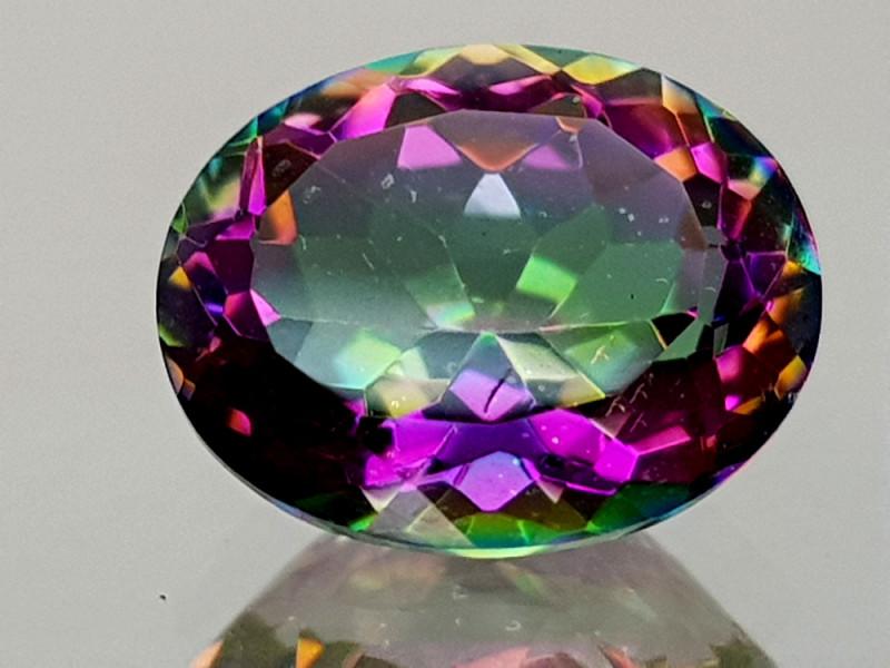 2.39Crt Mystic Quartz Natural Gemstones JI09
