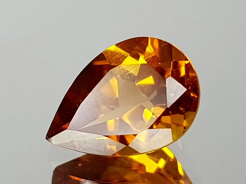 1.33Crt Madeira Citine Natural Gemstones JI09