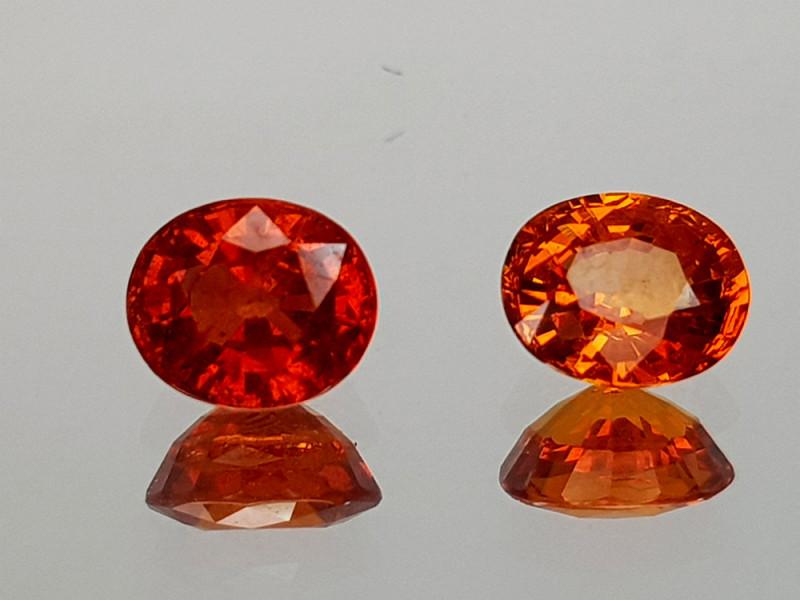 1.41Crt Spessartite Garnet Natural Gemstones JI09