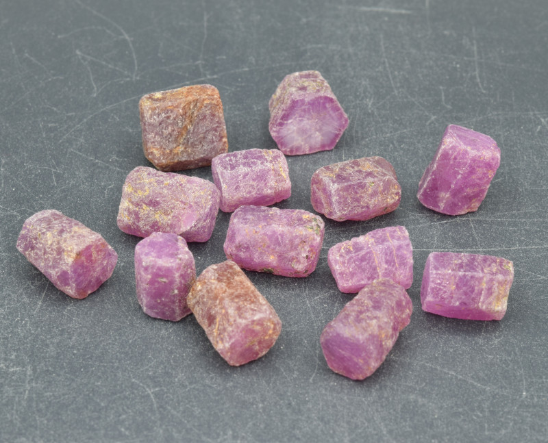 Natural RubyCrystal Type Rough 101 Cts Lot