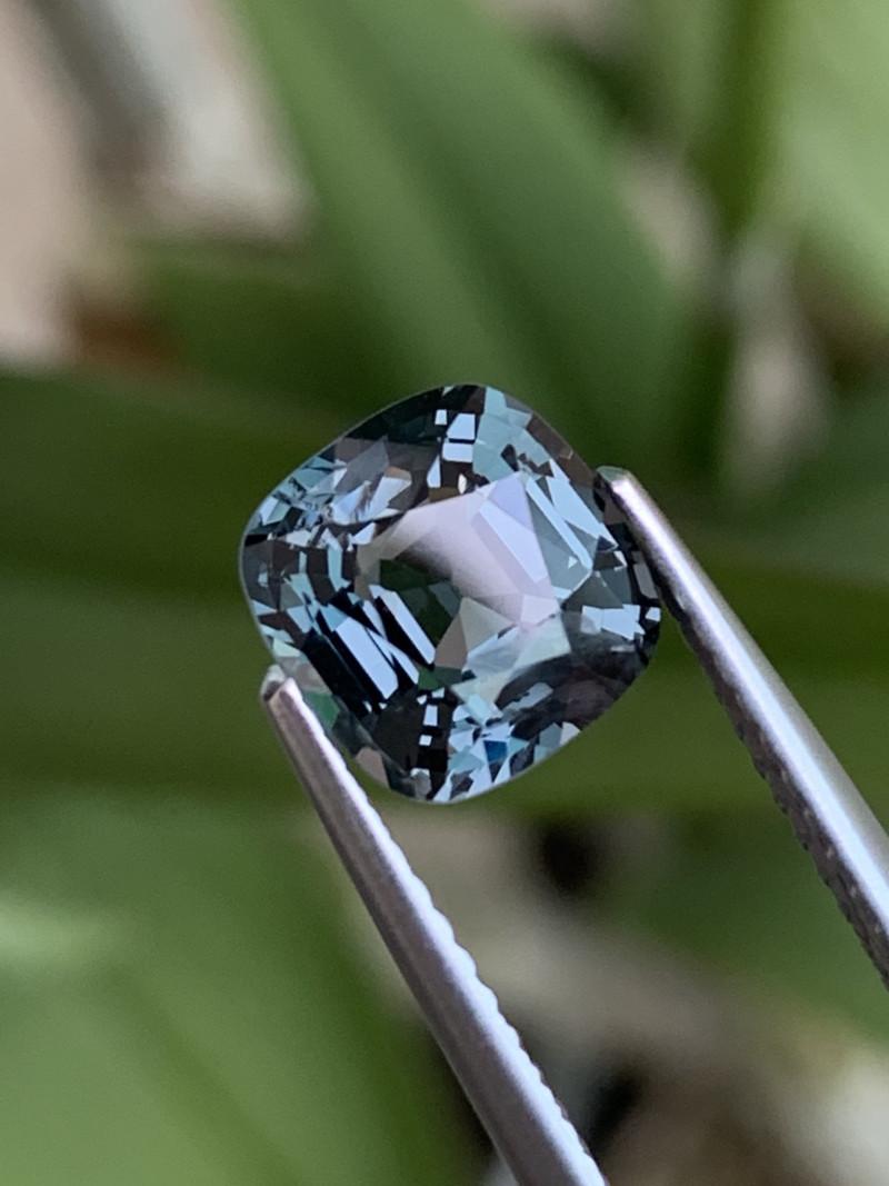 2.19 Cts AAA Grade Burma Blue Spinel Unheated/Untreated