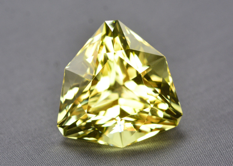 92.20 Ct Brilliant Color Natural Citrine