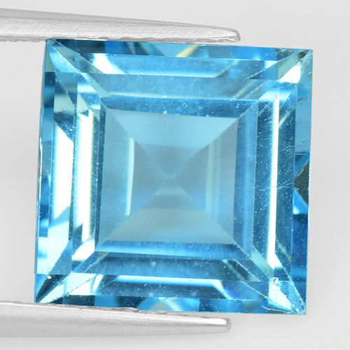 6.04 Cts Super Swiss Blue Natural Topaz Gemstones