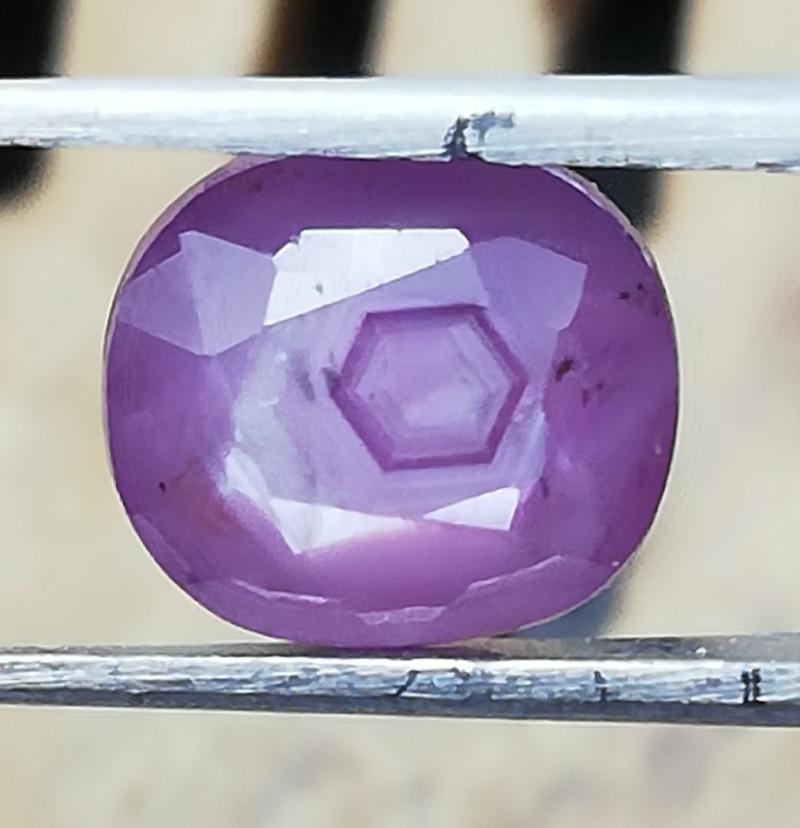 Ruby, 2. 12ct, nice coloured interesting gem!