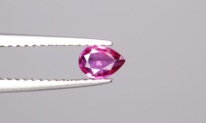 0.25Cts Natrual  No Heat Ruby Gemstones
