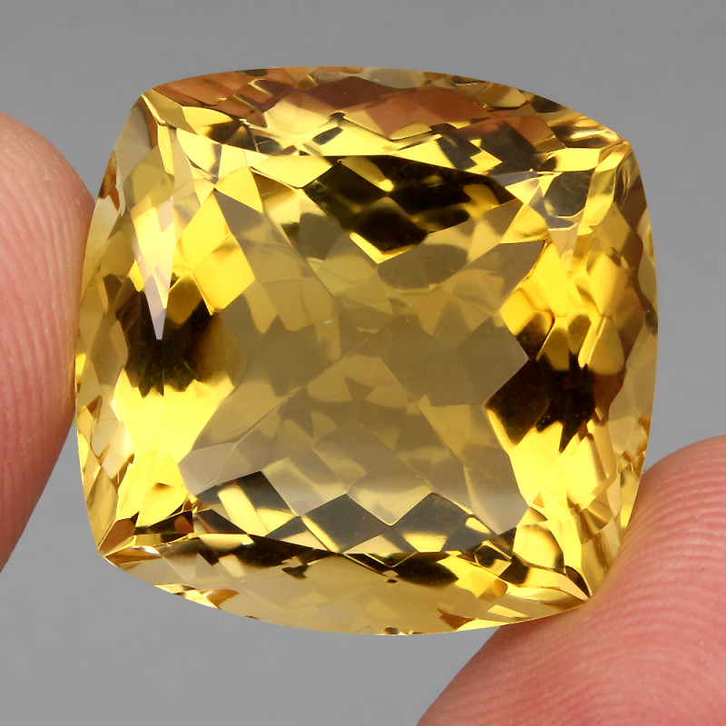 51.82 ct. 100% Natural Unheated Top Quality Yellow Golden Citrine Brazil