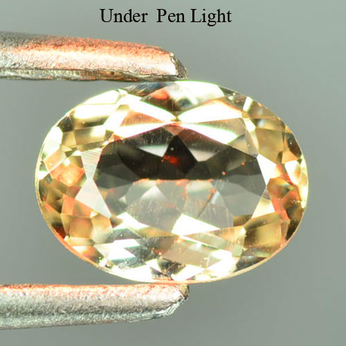 0.65 Cts Rare Color Changing Diaspore Natural Gemstone