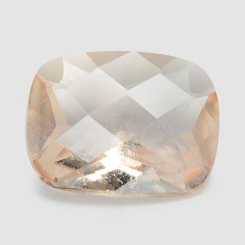 *NoReserve*Morganite 2.81 Cts Rare Natural Pink-Brown Color Gemstone
