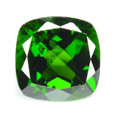 2.45 Cts Natural Green Color Chrome Diopside Loose Gemstone
