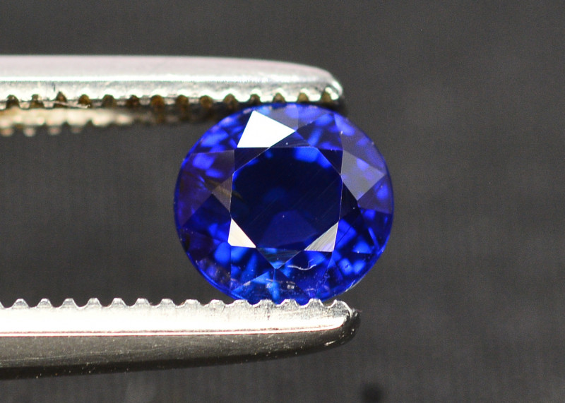 Gorgeous Color 0.75 Ct Natural Royal Blue Ceylon Sapphire
