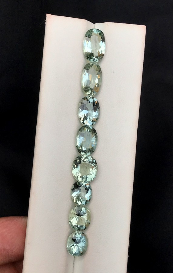 14.95 Carats Natural Greenish Blue Color Aquamarine Gemstone