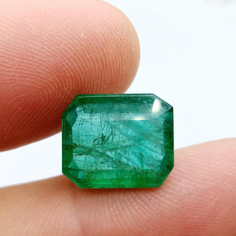 10.19cts Zambian  Emerald , 100% Natural Gemstone