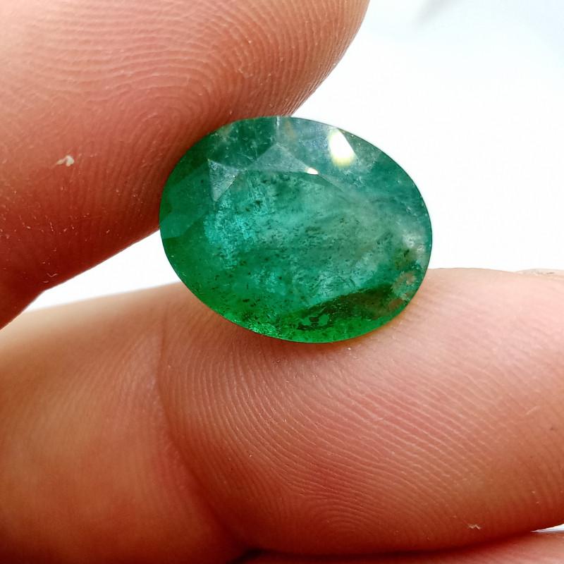 9.44cts  Zambian  Emerald , 100% Natural Gemstone