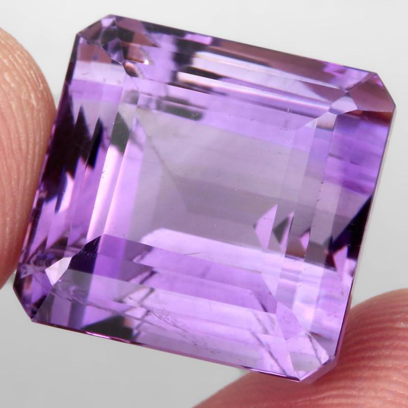 34.51 ct 100% Natural Earth Mined Unheated Purple Amethyst, Uruguay