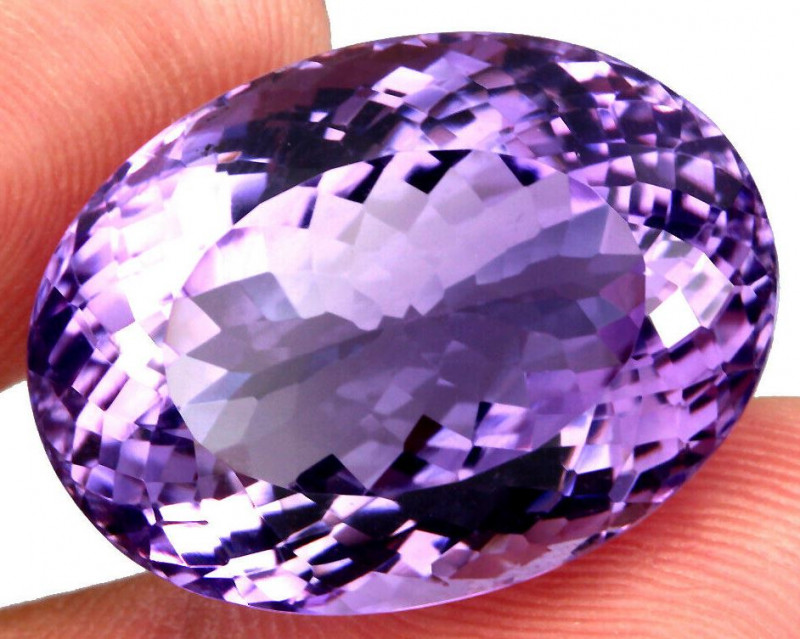 Unheated 47.50 ct. Natural Top Nice Purple Amethyst Brazil
