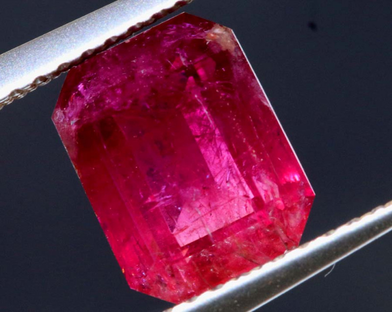 1.79CTS  RED BERYL FACETED STONE UTAH TBM-2283