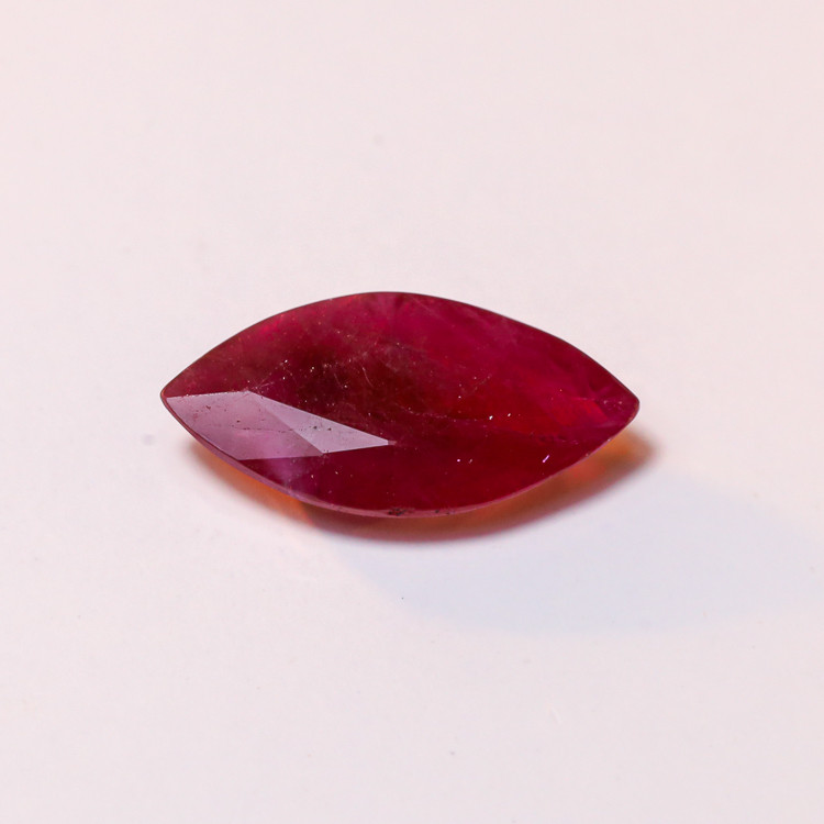 **No Reserve** 2.06ct Marquise cut Ruby