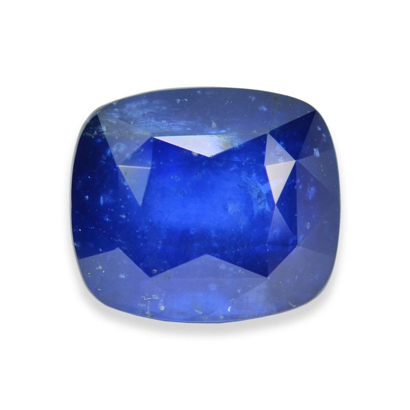 6.76 Cts Stunning Lustrous Blue Sapphire
