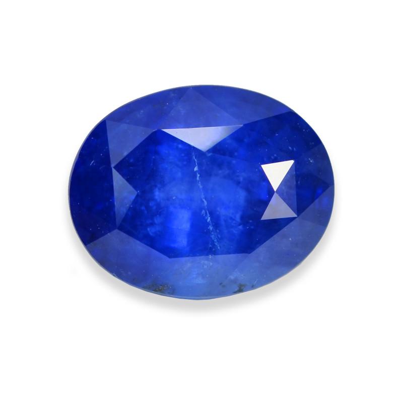 5.20 Cts Stunning Lustrous Blue Sapphire