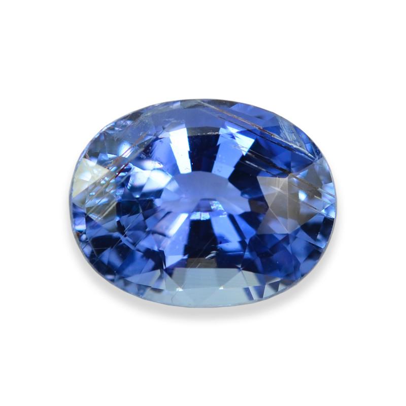 3.54 Cts Stunning Lustrous Blue Sapphire