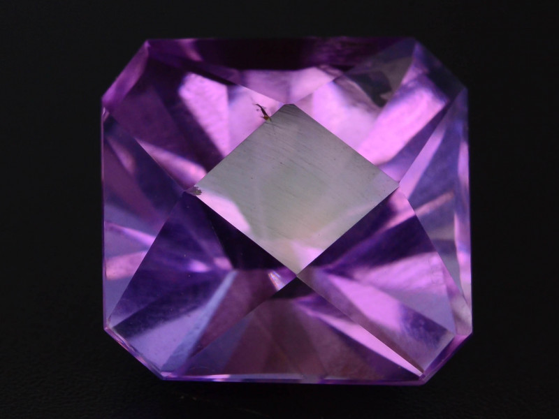 7.90 CT Natural Gorgeous Color Fancy Cut Amethyst