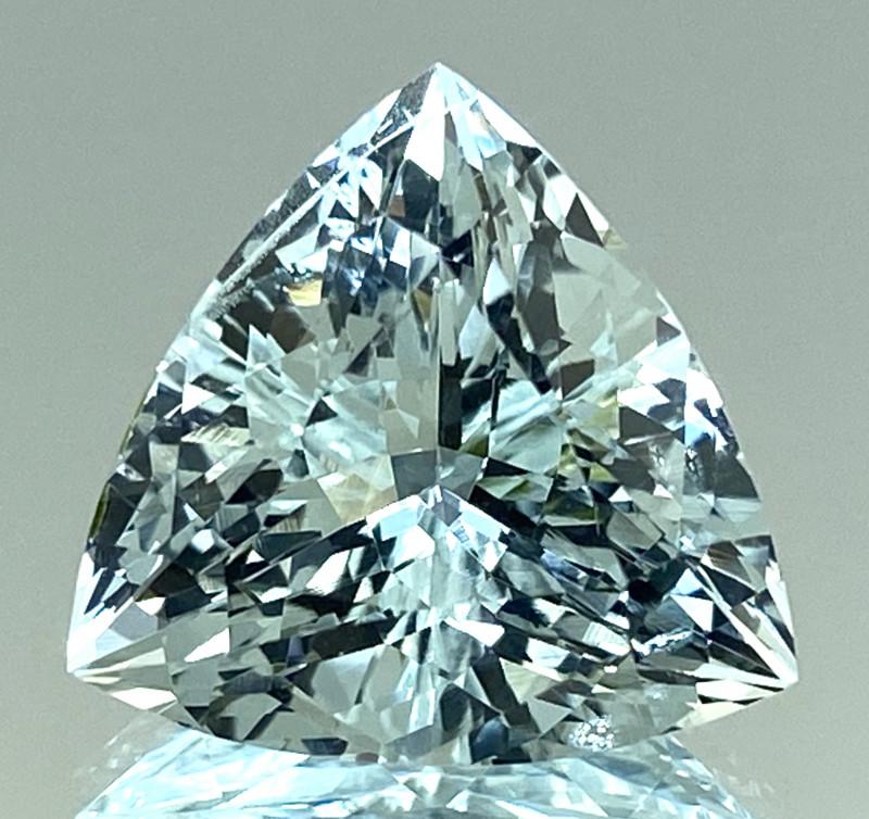 10.37Ct Aquamarine Excellent Cut Quality Gemstone From Pakistan.AQF 01