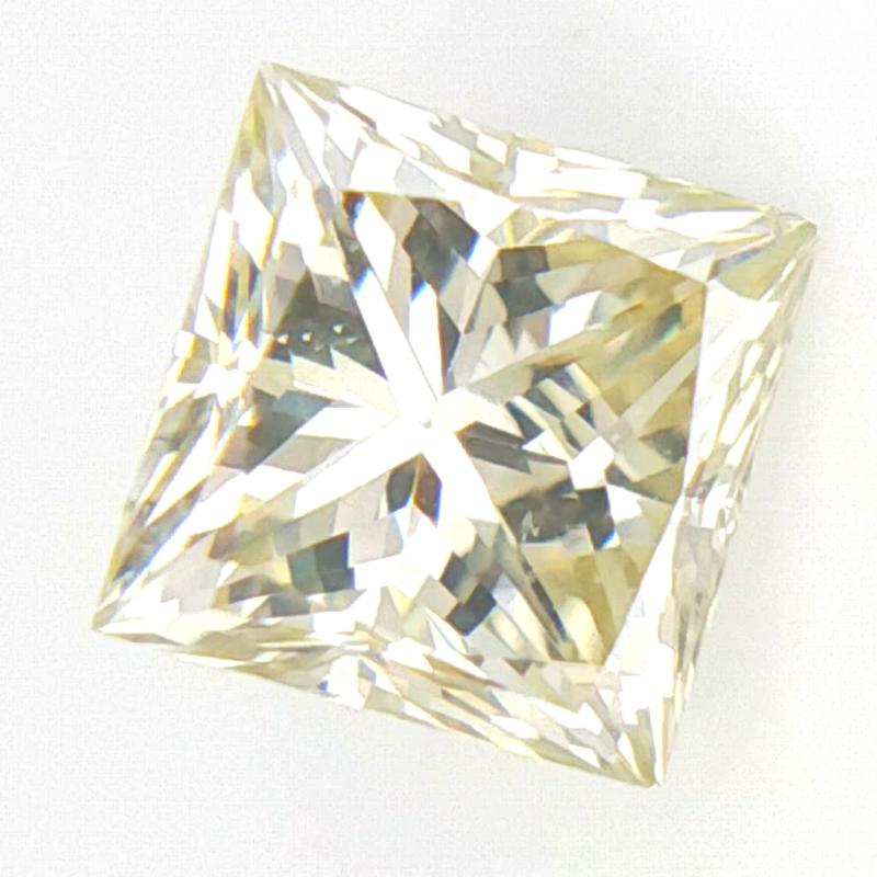 0.366 ct , Princess Cut Diamond , OWLC Diamond