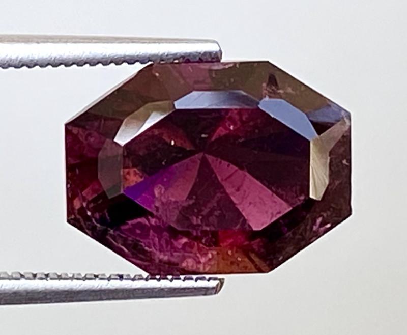 4.00Ct Tourmaline Amazing Cut Sparkiling Luster Quality Gemstone. TMF 16