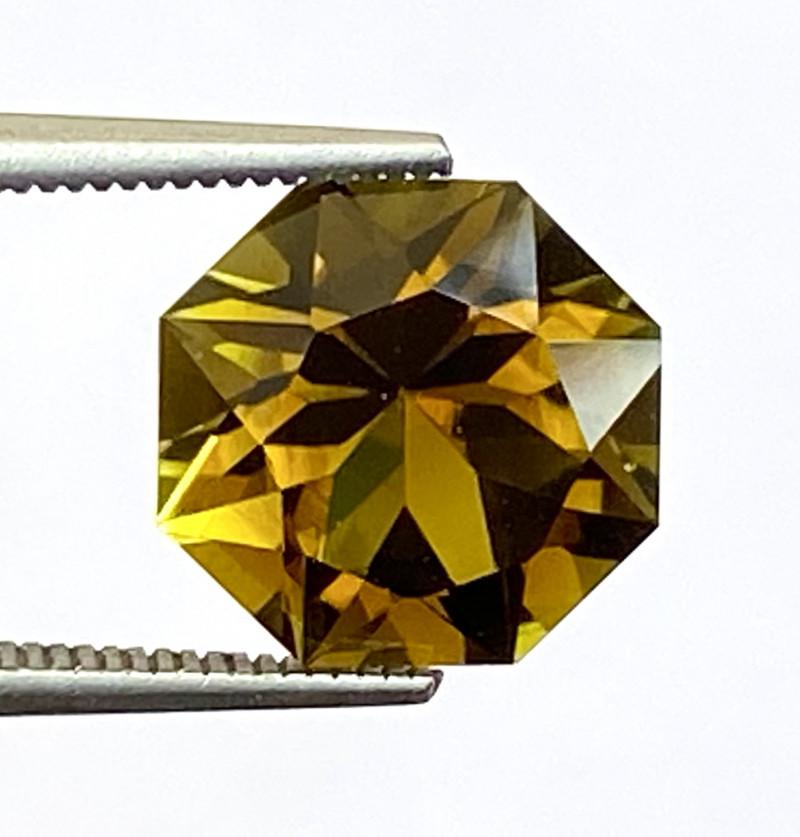 3.54Ct Tourmaline Amazing Cut Sparkiling Luster Quality Gemstone. TMF 21