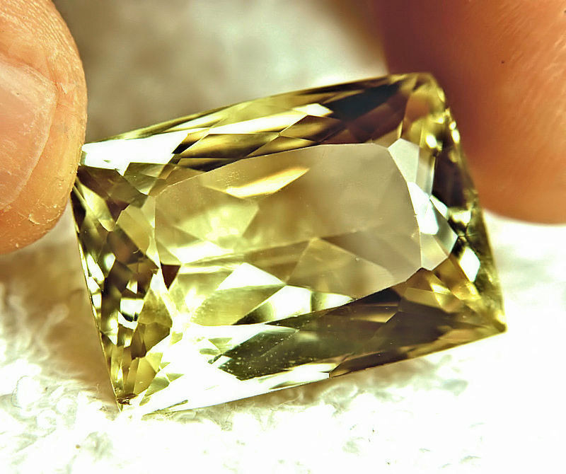 63.35 Carat IF/VVS1 Golden Yellow Triphane - Gorgeous