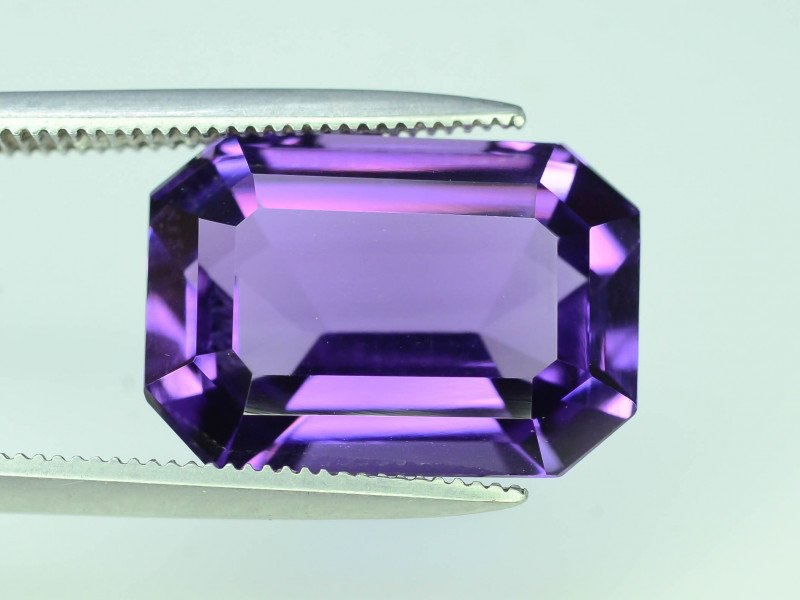 AAA Color 7.30 ct Untreated Amethyst~AS