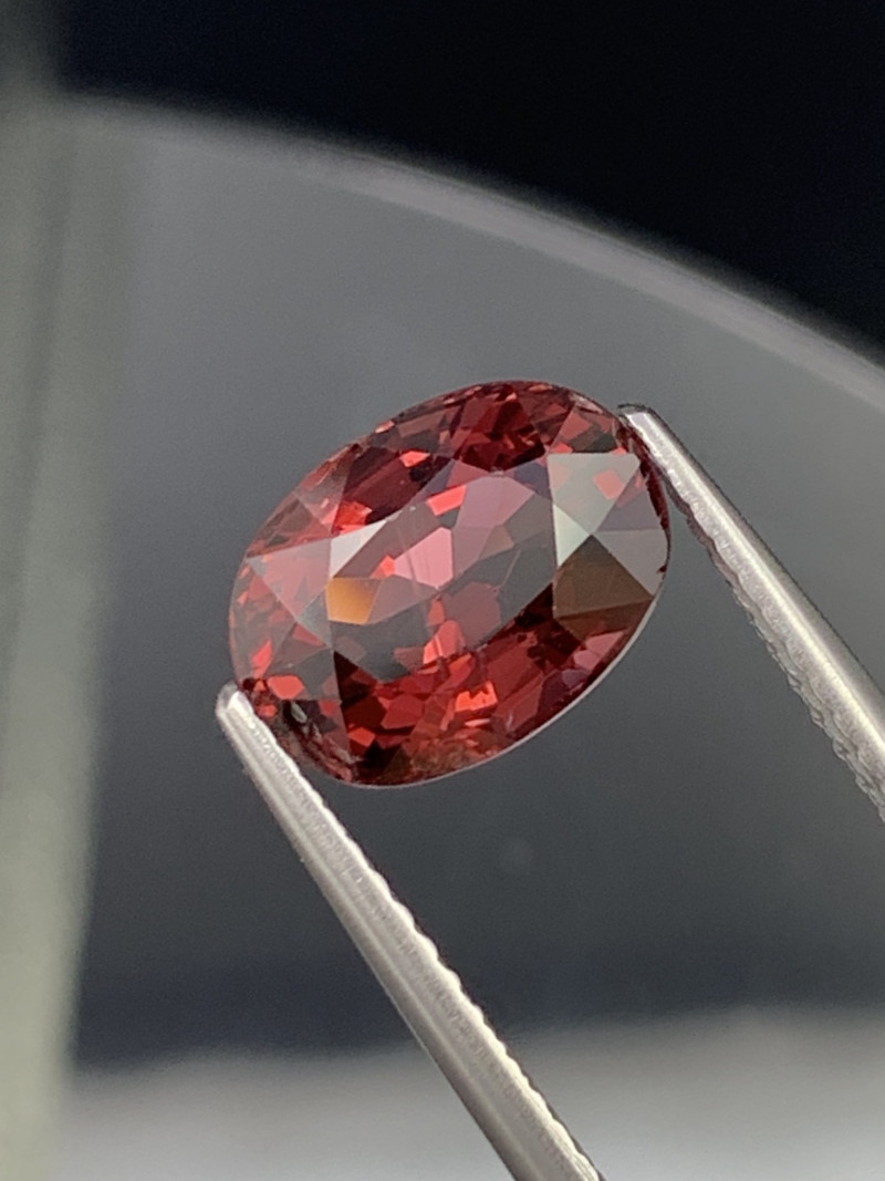 3.09 Cts Burma Fine Quality Natural Red Spinel Unheated/Untreated