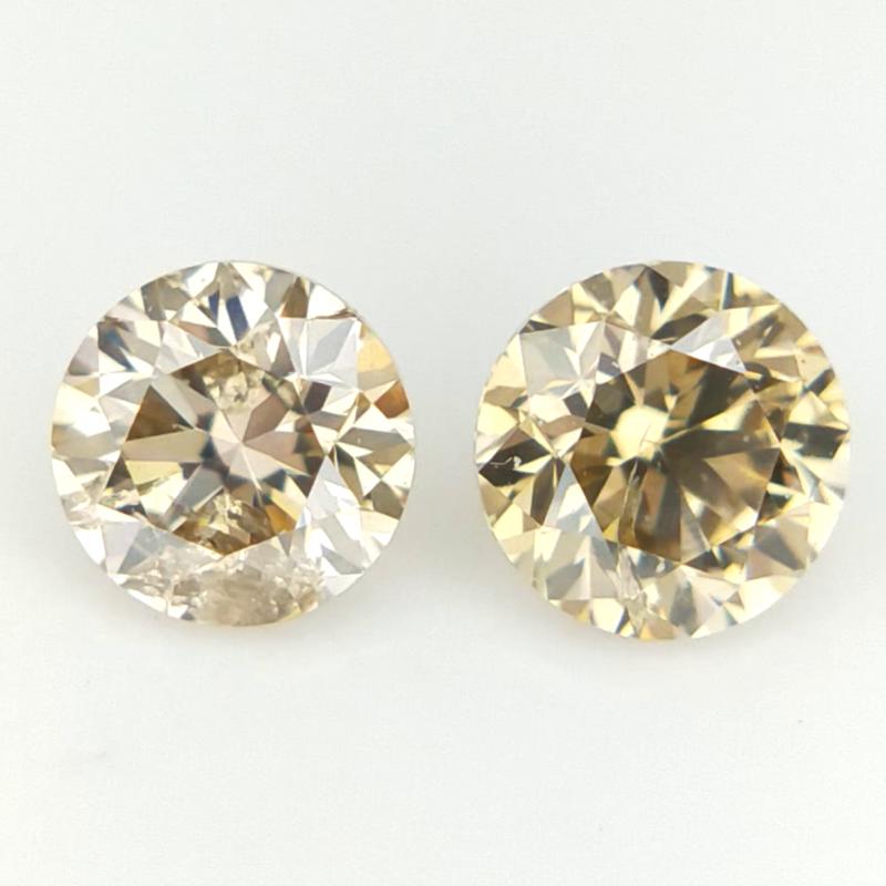 2/0.32 CTS , Natural Round Diamonds , Diamonds For Jewelry