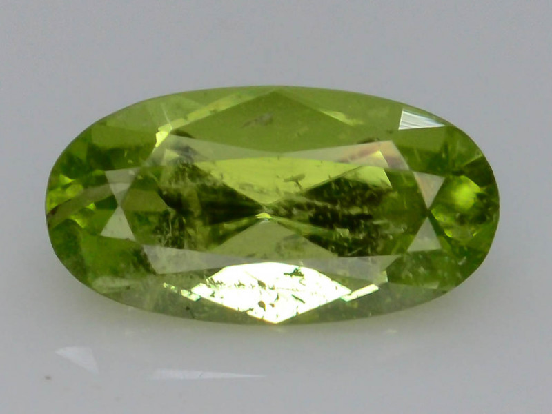Apple Green 0.95 Ct Natural Peridot