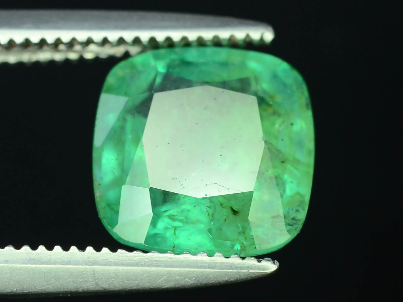 Top Color & Clarity 1.55 ct Emerald~Zambia SJ