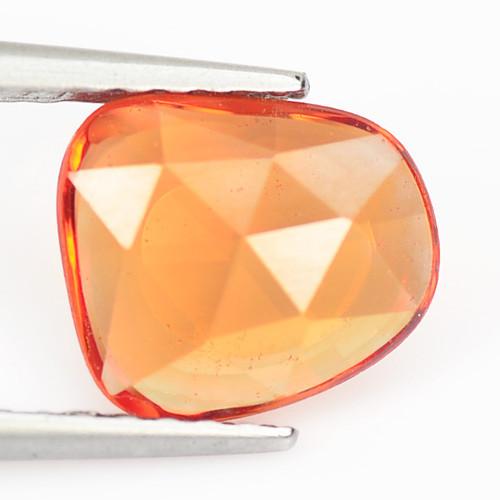 Orange Sapphire 1.09 Cts Amazing Rare Natural Fancy Loose Gemstone