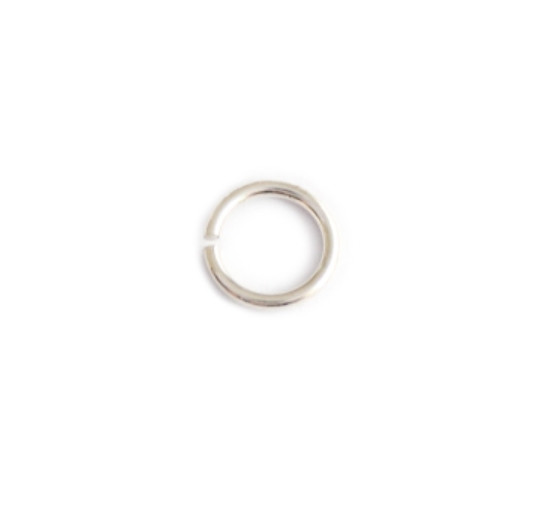 Round Jump Ring   Nickel Free Silver , 9ct Gold