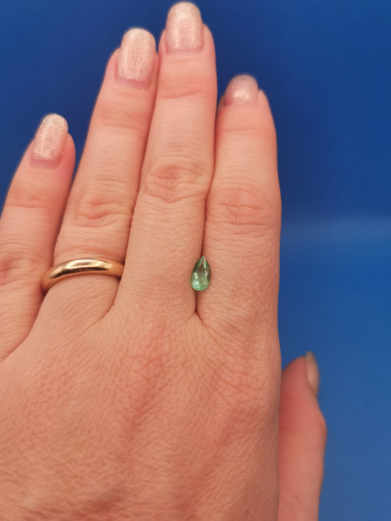 0,62ct Colombian Emeralds Ref 21/75 Colombian Emerald emerald Natural col
