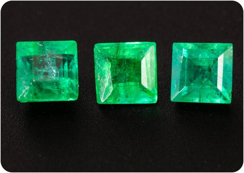 Emerald  0.75 ct Zambia GPC