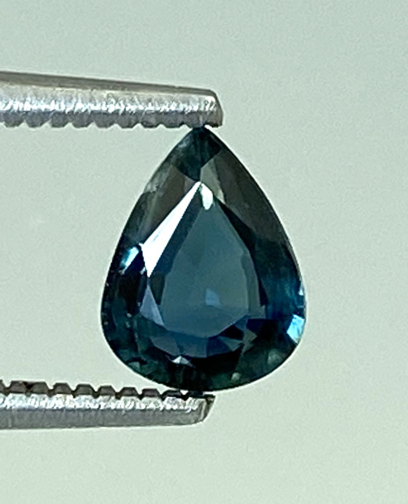 0.59Ct Natural Blue Sapphire Good Quality  Gemstone. BS 14