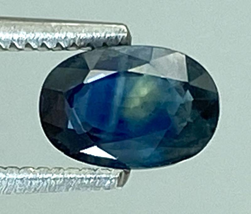 0.65Ct Natural Blue Sapphire Good Quality  Gemstone. BS 23