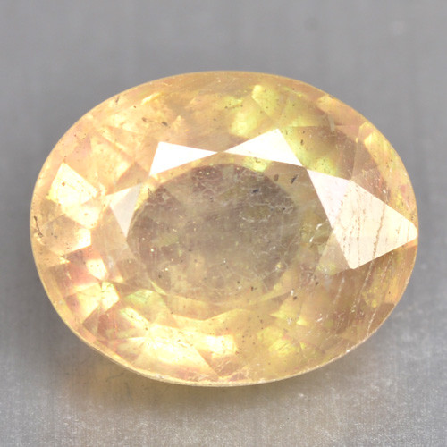 4.44 Cts Rare Fancy Yellow Sapphire Natural Gemstone