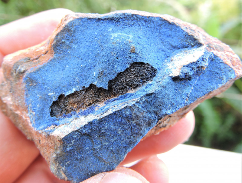67.78g AZURITE SPECIMEN FROM LAVRION MINES GREECE