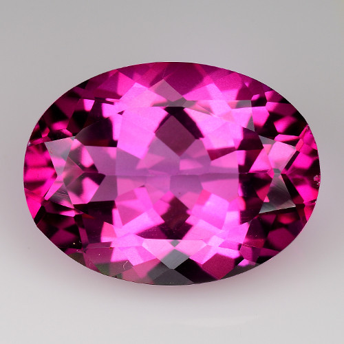 11.30Cts Pink Topaz Top Cut and Luster Gemstone PT7